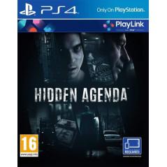 HIDDEN AGENDA PS4 UK NEW