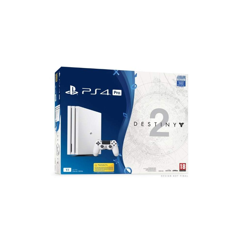 achat console ps4 pro 1 to blanche destiny 2 euro new. Black Bedroom Furniture Sets. Home Design Ideas