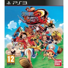 ONE PIECE UNLIMITED WORLD RED PS3 FR NEW