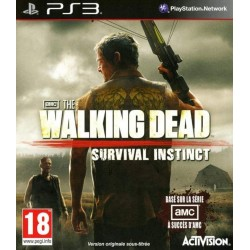 THE WALKING DEAD SURVIVAL INSTINCT PS3 FR OCCASION