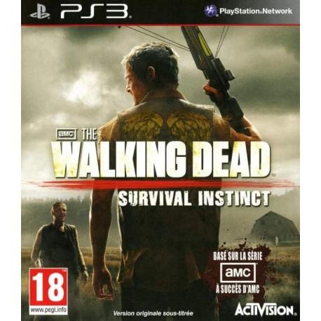 THE WALKING DEAD SURVIVAL INSTINCT PS3 FR OCCASION