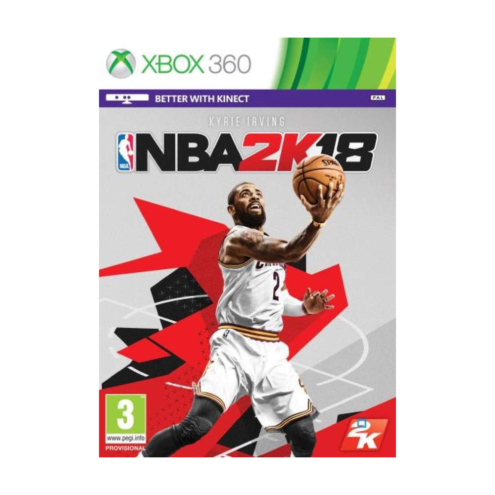 NBA 2K18 XBOX 360 PAL-FR OCCASION