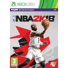 NBA 2K18 XBOX 360 PAL-FR OCCASION