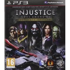 INJUSTICE GODS AMONG US ULTIMATE EDITION PS3 UK FR NEW