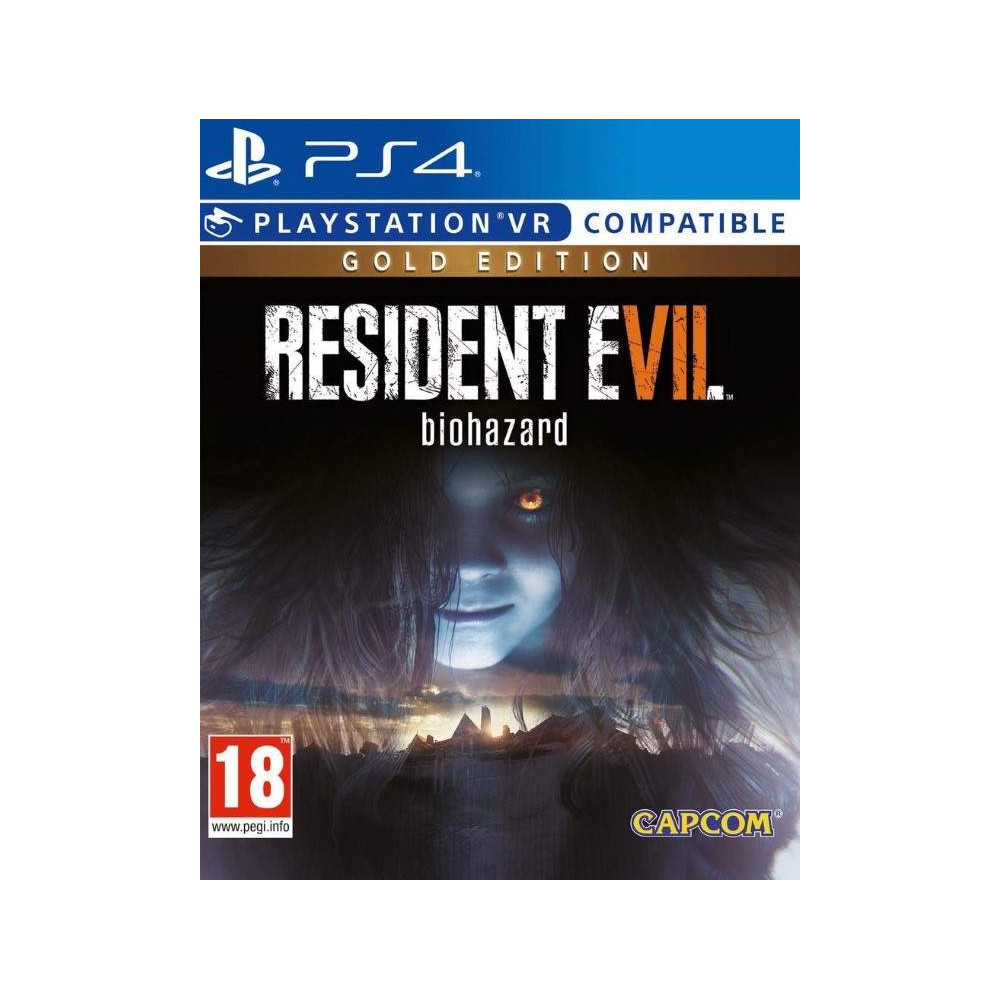 RESIDENT EVIL 7 GOLD EDITION PS4 EURO FR NEW