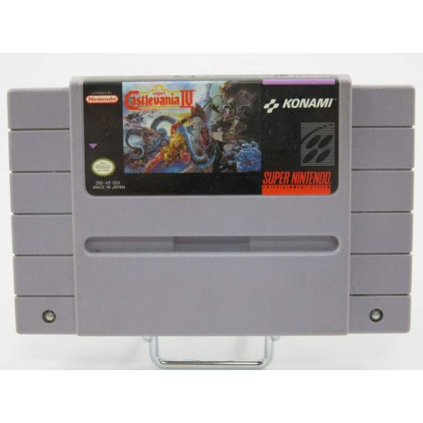 SUPER CASTLEVANIA IV SNES NTSC-USA LOOSE