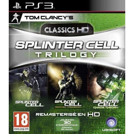 SPLINTER CELL HD TRILOGY PS3 FR OCCASION