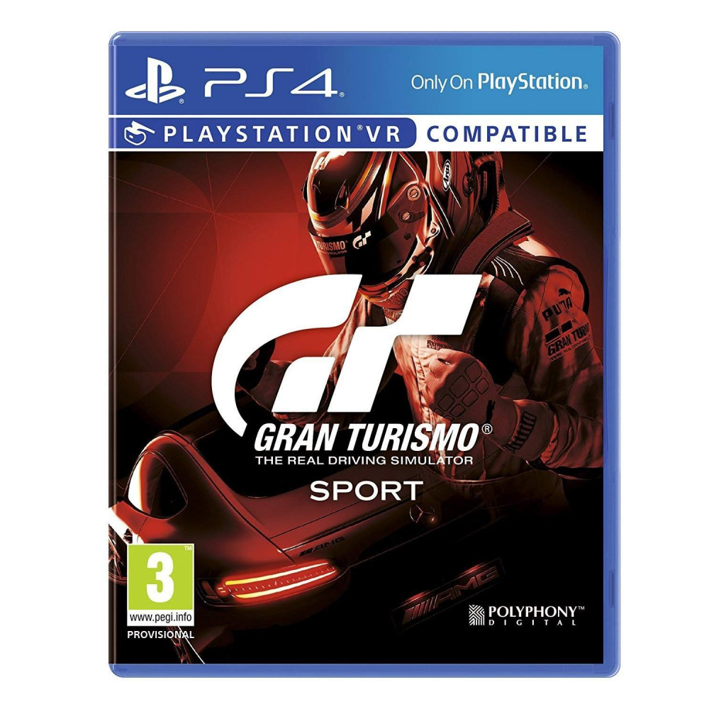 GRAN TURISMO SPORT BUNDLE COPY PS4 FR OCCASION