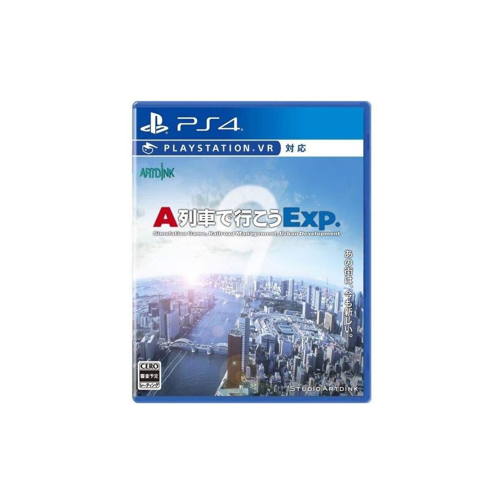Préco A-TRAIN DE IKOU EXP. PS4 JPN NEW