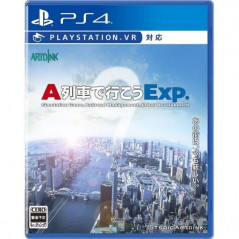 Preorder A-TRAIN DE IKOU EXP. PS4 JPN NEW