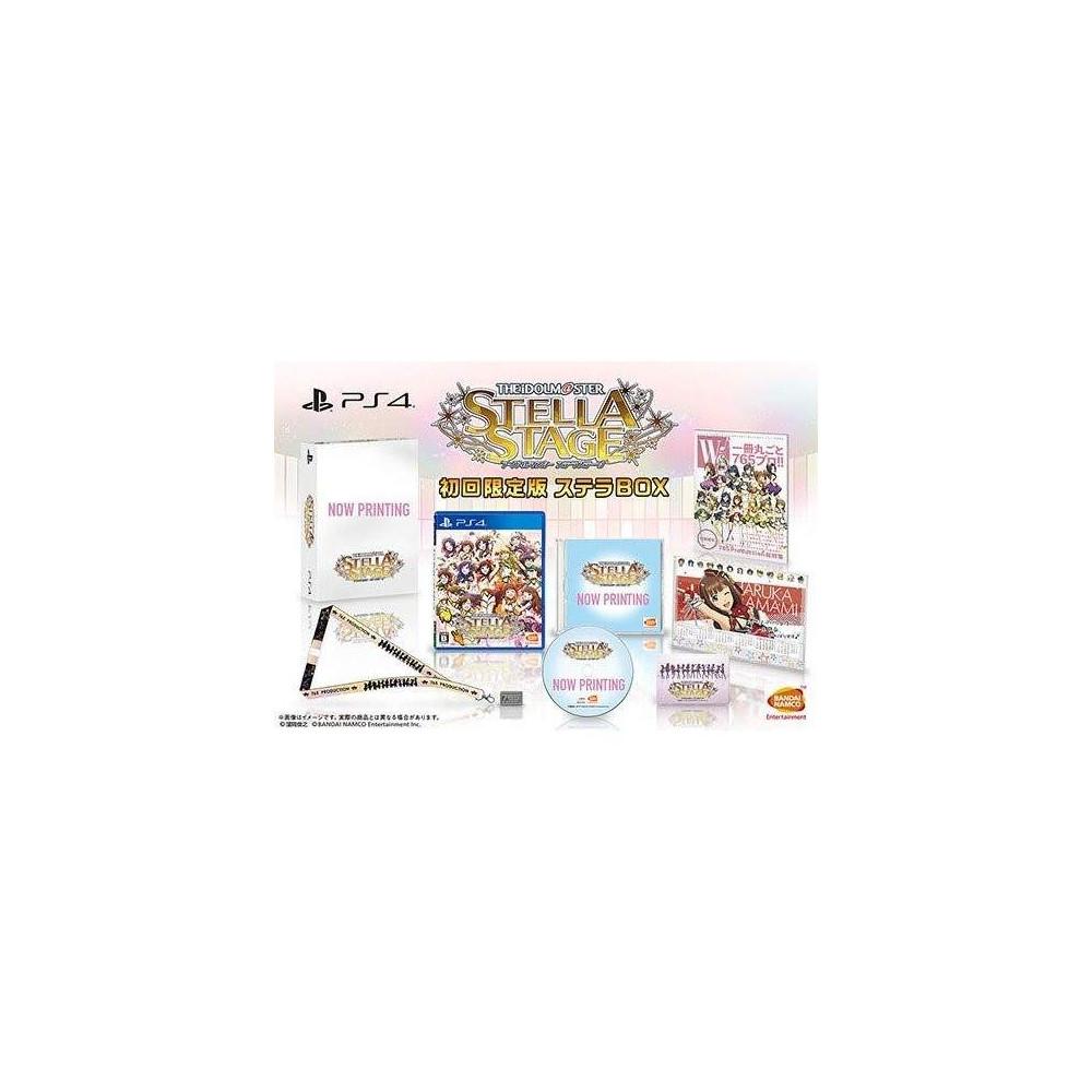 Preorder THE IDOLM@STER: STELLA STAGE [STELLA BOX] PS4 JPN NEW