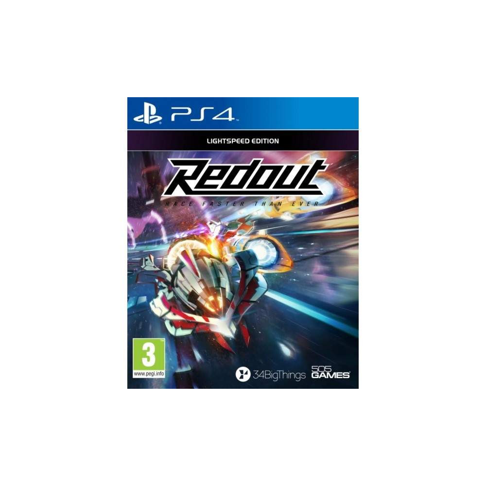 REDOUT RACE FASTER THAN EVER PS4 FR OCCASION