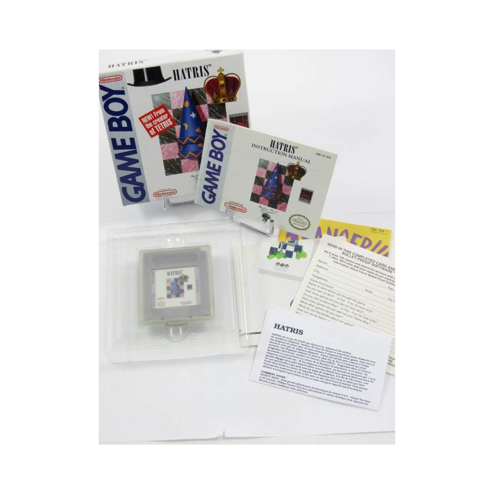 HATRIS GAMEBOY USA OCCASION (IMPORT FR + POSTER)