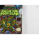 TEENAGE MUTANT NINJA TURTLES FALL OF THE CLAN GAMEBOY USA OCCASION (IMPORT FR)