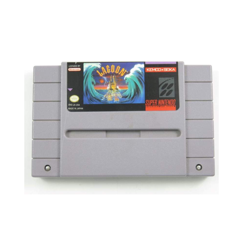 LAGOON SNES NTSC-USA LOOSE