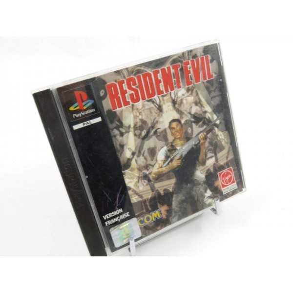RESIDENT EVIL PS1 PAL-FR OCCASION