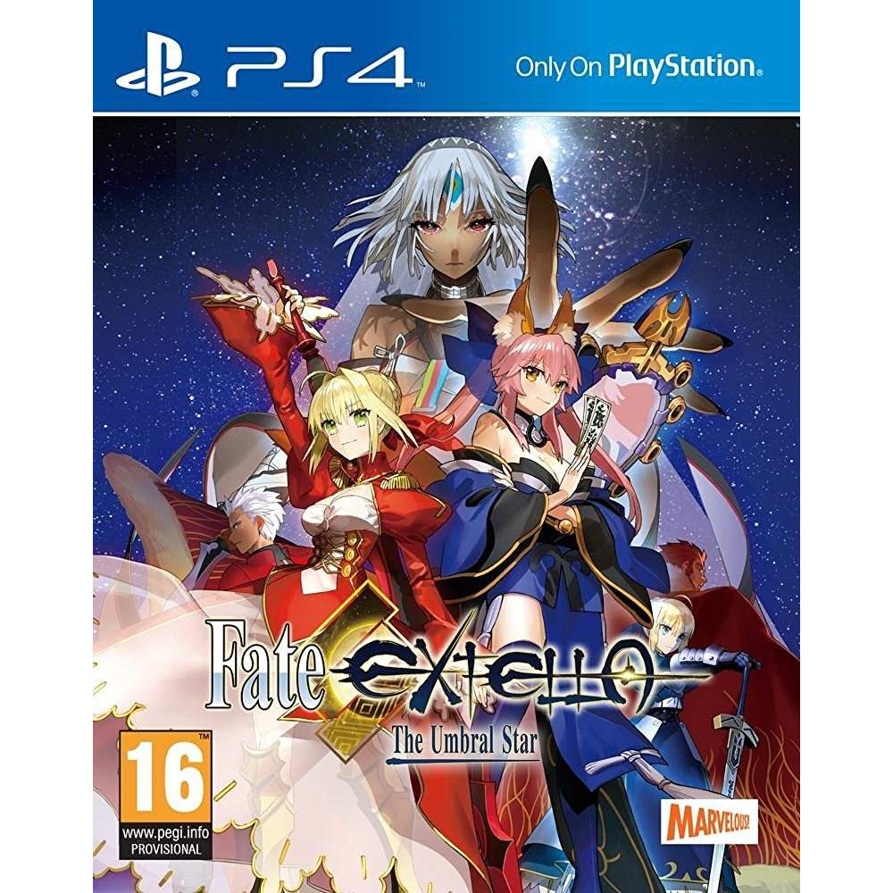 FATE EXTELLA THE UMBRAL STAR PS4 UK OCCASION