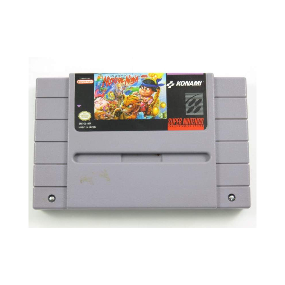 THE LEGEND OF THE MYSTICAL NINJA SNES NTSC-USA LOOSE
