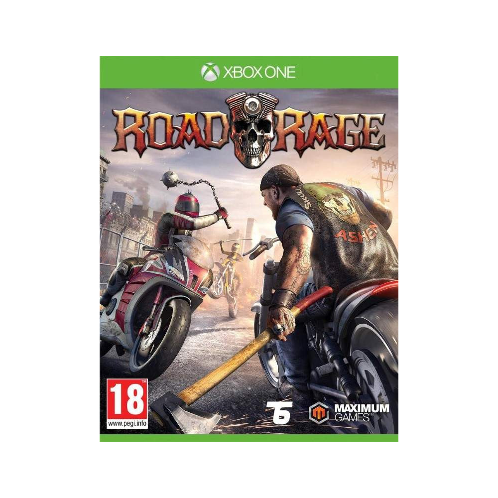 ROAD RAGE XBOX ONE FR OCCASION