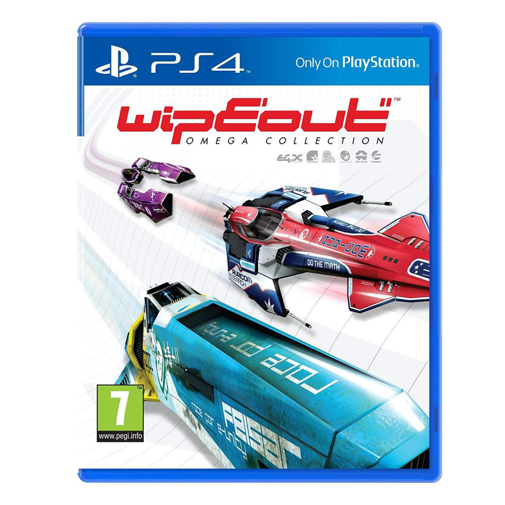 WIPEOUT OMEGA COLLECTION PS4 POL / HUN / CEZ NEW