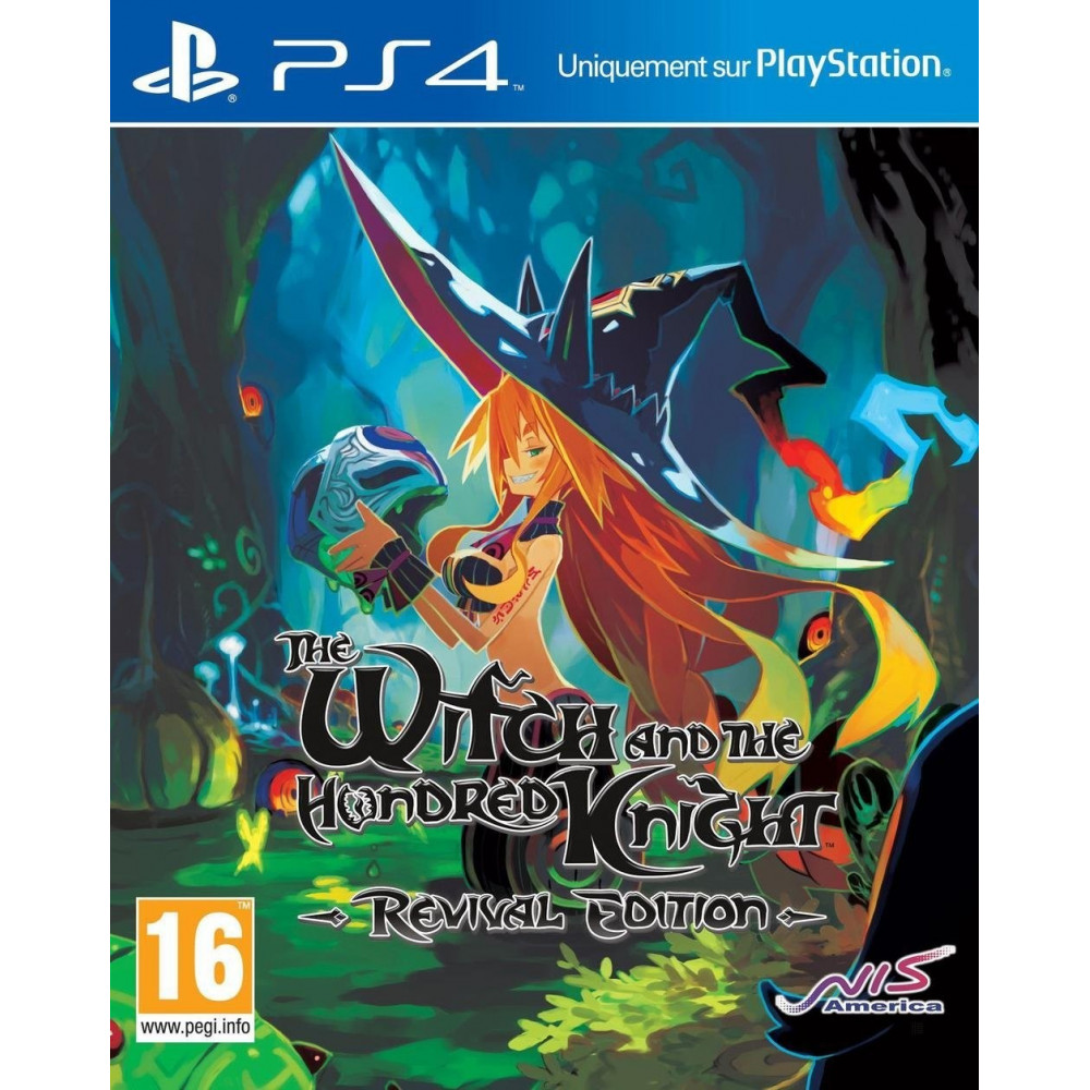 THE WITCH AND THE HUNDRED KNIGHT REVIVAL EDITION PS4 UK NEW