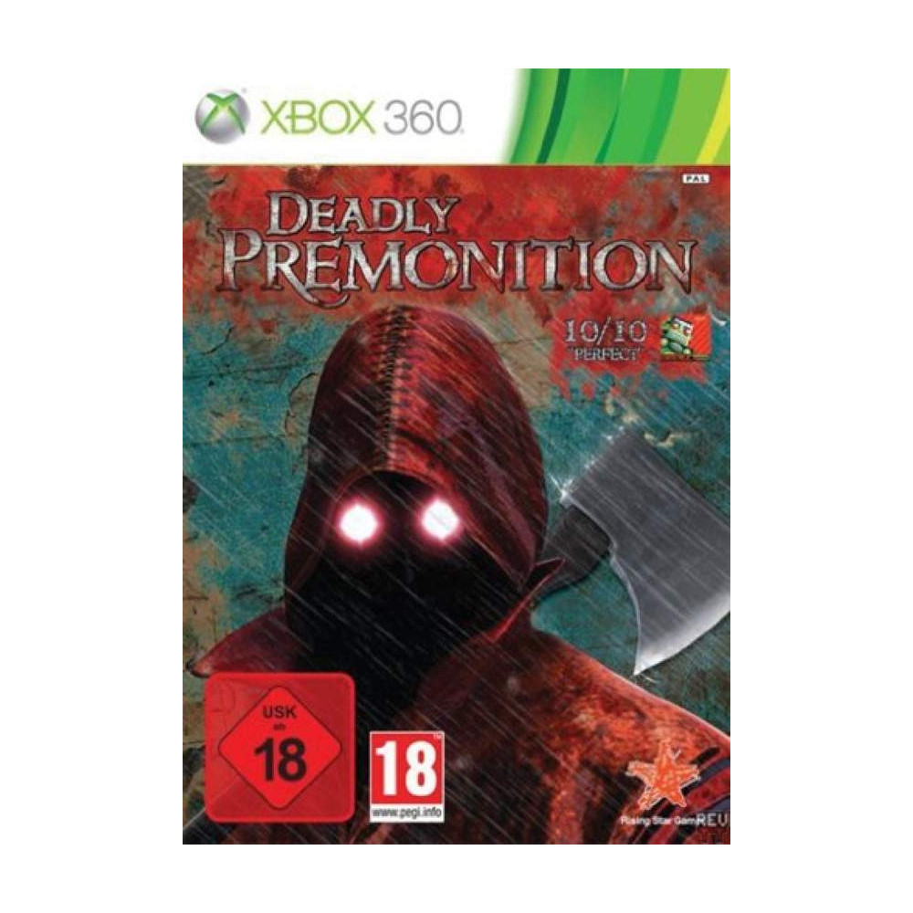 DEADLY PREMONITION XBOX 360 PAL-FR OCCASION