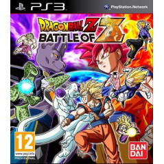 DRAGON BALL Z BATTLE OF Z PS3 FR OCCASION
