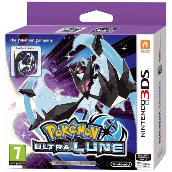 POKEMON ULTRA LUNE STEELBOOK 3DS UK OCCASION