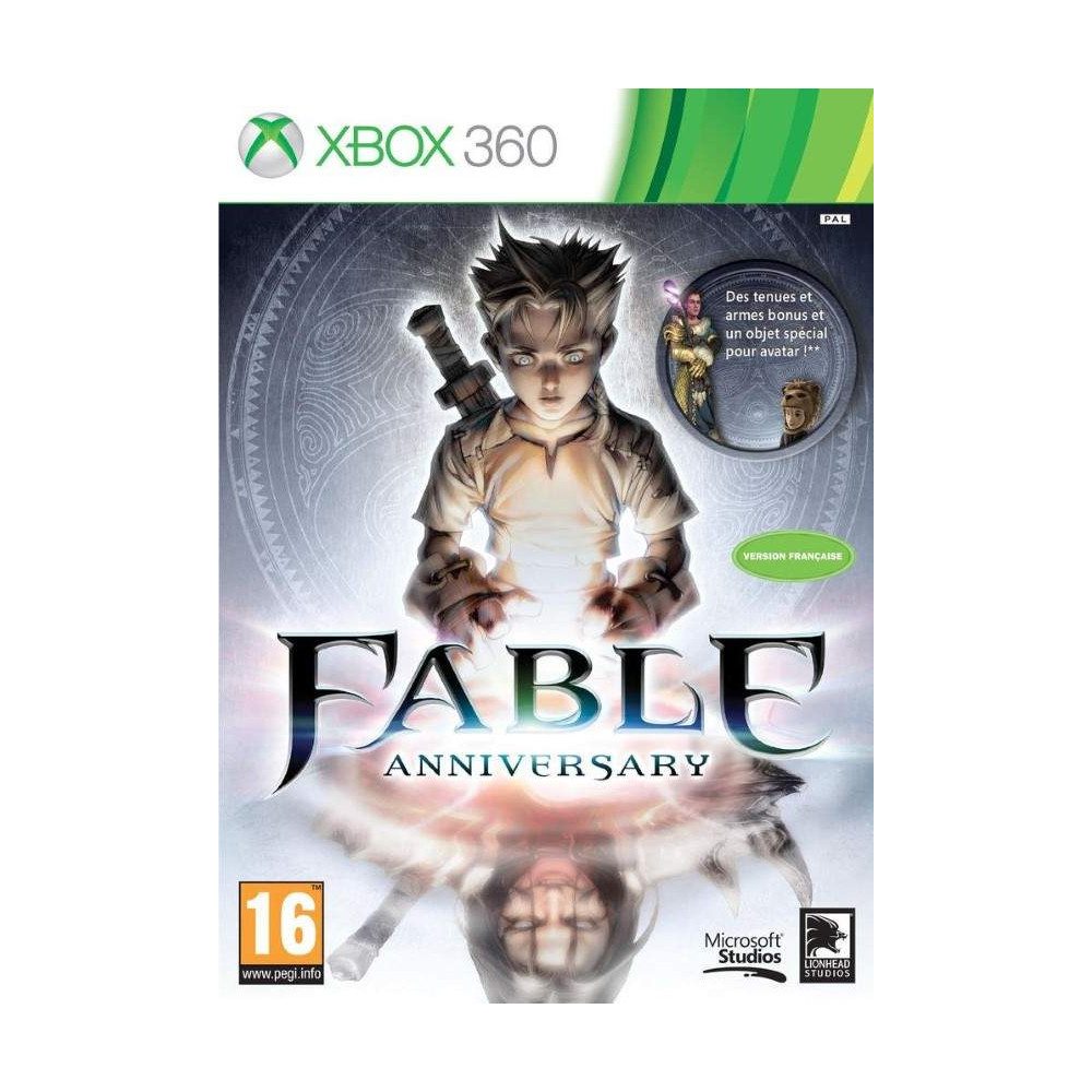 FABLE ANNIVERSARY XBOX 360 PAL-FR OCCASION