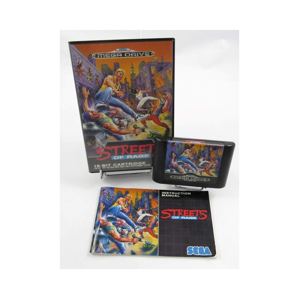 STREETS OF RAGE MEGADRIVE PAL-EURO OCCASION