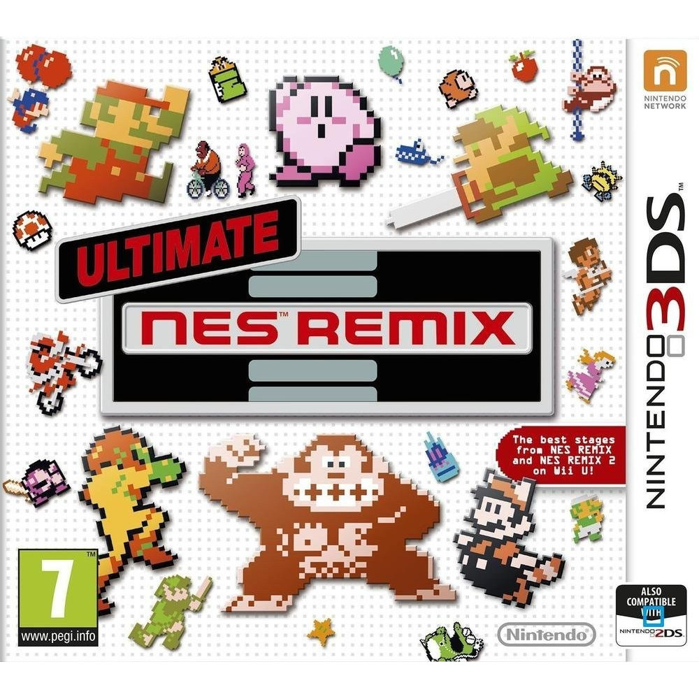 ULTIMATE NES REMIX 3DS FR OCCASION