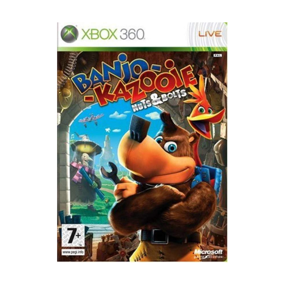BANJO-KAZOOIE NUTS&BOLTS X360 PAL-FR OCCASION