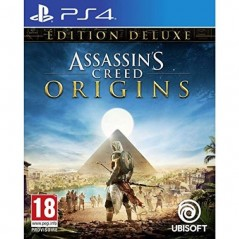 ASSASSIN S CREED ORIGINS DELUXE EDITION PS4 FR OCCASION