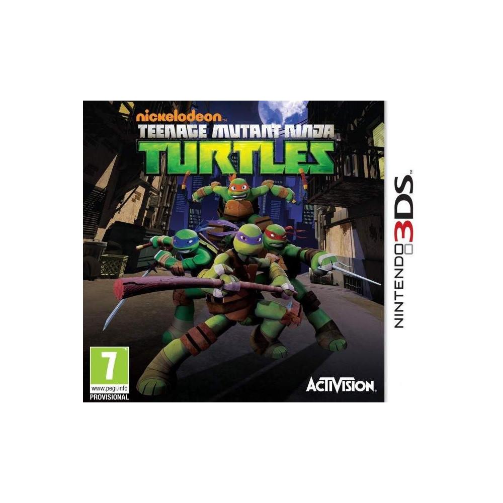 TEENAGE MUTANT NINJA TURTLES 3DS PAL-FR OCCASION