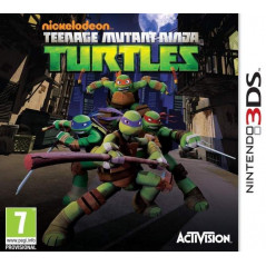 TEENAGE MUTANT NINJA TURTLES 3DS PAL-FR OCCASIONTEENAGE MUTANT NINJA TURTLES 3DS PAL-FR OCCASION