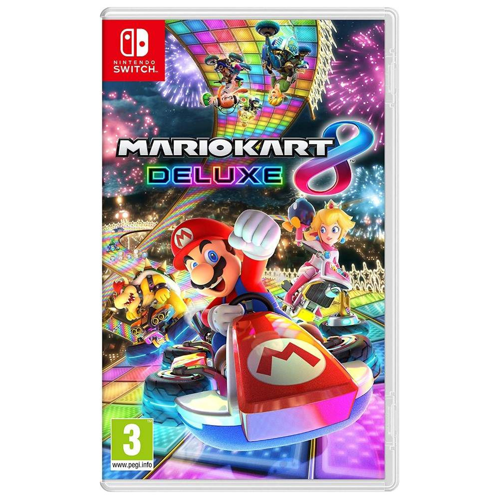 MARIO KART 8 DELUXE SWITCH UK NEW