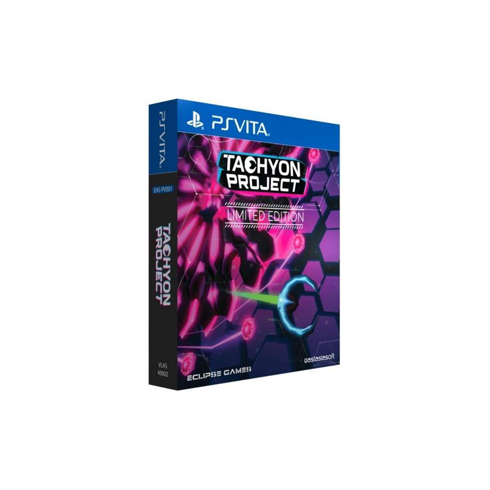 TACHYON PROJECT LIMITED EDITION PSVITA ASIAN NEW