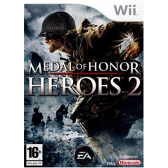 MEDAL OF HONOR HEROES 2 WII PAL FR OCCASION