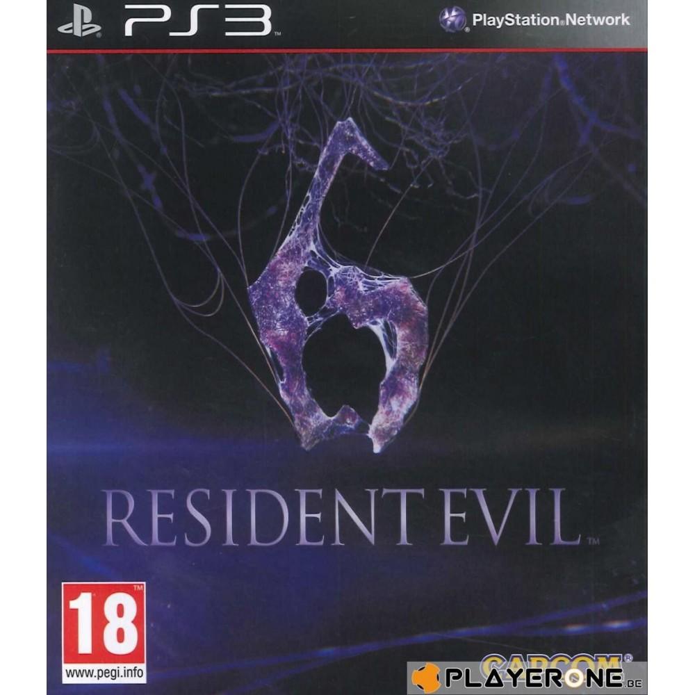 RESIDENT EVIL 6 PS3 FR