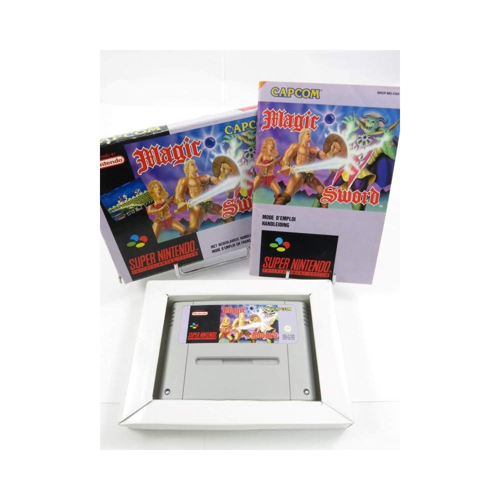 MAGIC SWORD SNES PAL-FAH OCCASION