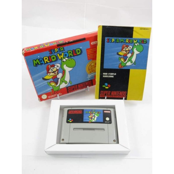 SUPER MARIO WORLD (NINTENDO CLASSICS) SNES PAL-FAH OCCASION