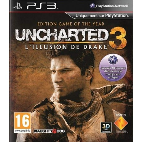 UNCHARTED 3 L ILLUSION DE DRAKE EDITION GAME OF THE YEAR PS3 FR OCCASION
