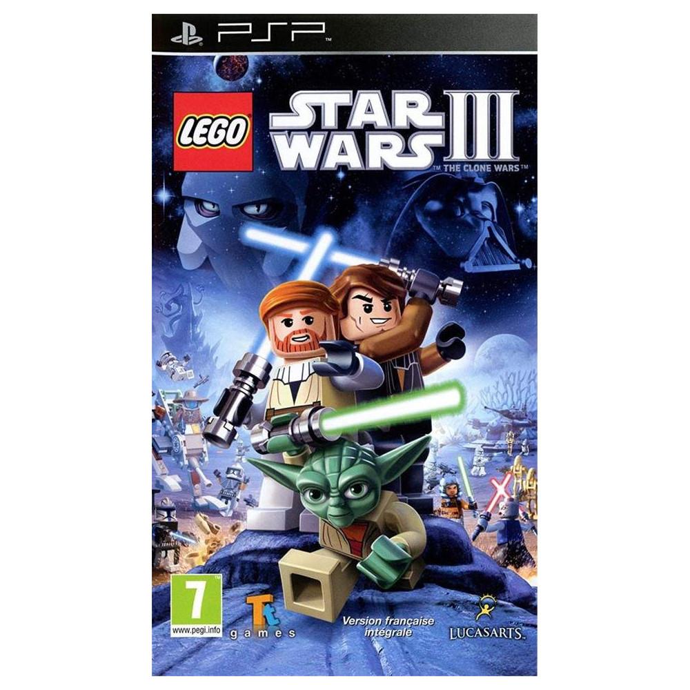 LEGO STAR WARS III THE CLONE WARS PSP FR OCCASION