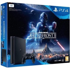 CONSOLE PS4 SLIM 1 TO + STAR WARS BATTLEFRONT 2 FR NEW