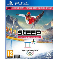 STEEP EDITION JEUX D HIVER PYEONGCHANG 2018 PS4 FR OCCASION