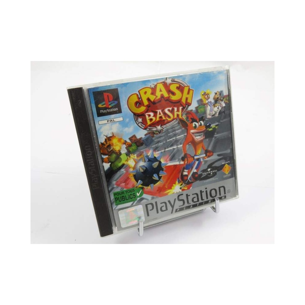 CRASH BASH PLATINUM PS1 PAL-FR OCCASION