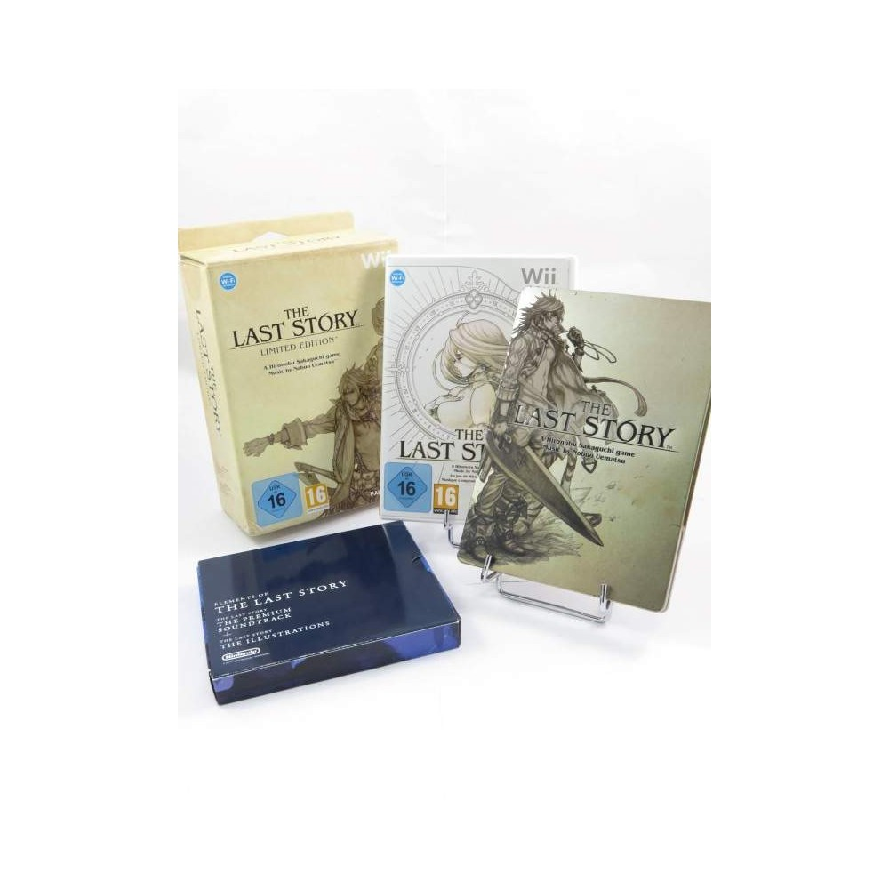 THE LAST STORY LIMITED EDITION WII PAL-EURO OCCASION