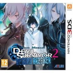 SHIN MEGAMI TENSEI DEVIL SURVIVOR 2 RECORD BREAKER 3DS VF OCC