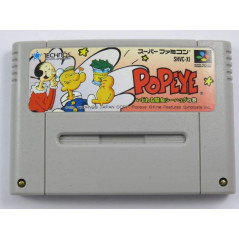 POPEYE - IJIWARU MAJO SEA HAG NO MAKI SUPER FAMICOM NTSC-JPN LOOSE