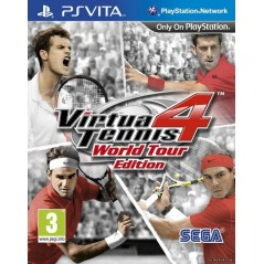 VIRTUA TENNIS 4 WORLD TOUR EDITION PSVITA FR NEW